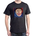 Happy Joe Big Mouth Cover T- Dark T-Shirt