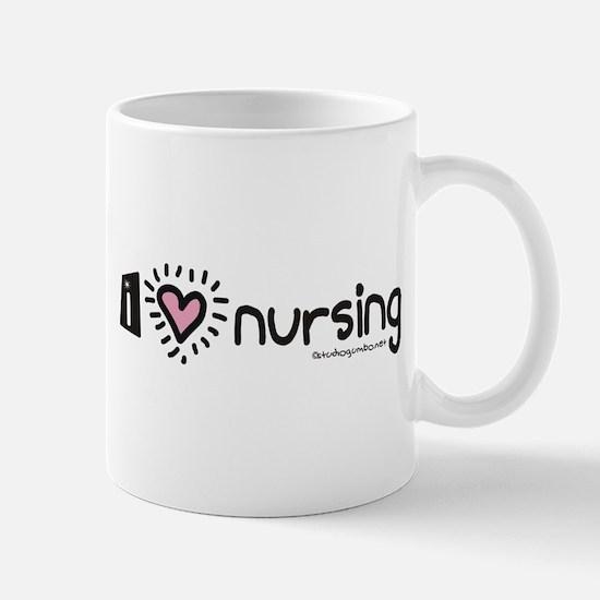 I Heart Nursing Mug