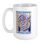 Mother Universe 2 Large Mug