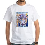 Mother Universe 2 White T-Shirt