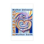 Mother Universe 2 Rectangle Sticker