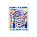 Mother Universe 2 Mini Poster Print