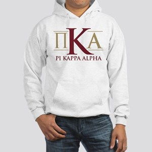 Pi Kappa Alpha Letters Hooded Sweatshirt