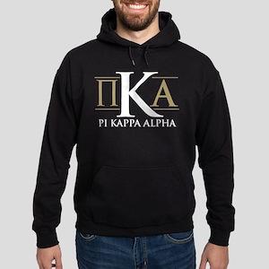 Pi Kappa Alpha Letters Hoodie (dark)