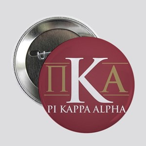 "Pi Kappa Alpha Letters 2.25"" Button"