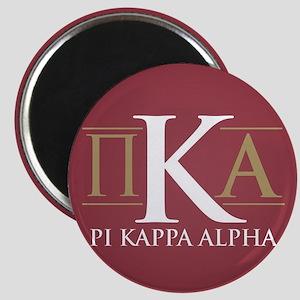 Pi Kappa Alpha Letters Magnet