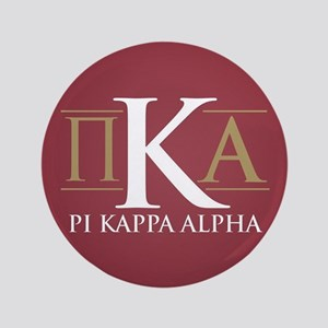 Pi Kappa Alpha Letters Button