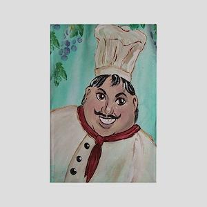 Chef Luigi Rectangle Magnet