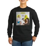Dr. Thor Reflex Test Long Sleeve Dark T-Shirt