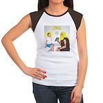 Dr. Thor Reflex Test Junior's Cap Sleeve T-Shirt