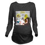 Dr. Thor Reflex Test Long Sleeve Maternity T-Shirt