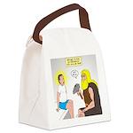 Dr. Thor Reflex Test Canvas Lunch Bag