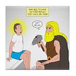 Dr. Thor Reflex Test Tile Coaster