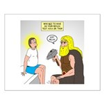 Dr. Thor Reflex Test Small Poster
