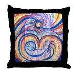 Care for Mother Earth Throw Pillow