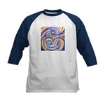 Care for Mother Earth Kids Baseball Jersey