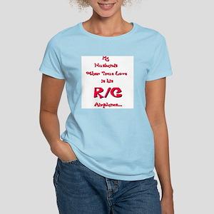 """""""Other Love & R/C Widows"""" - Women's Pink T-Shirt"""