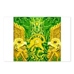 Green Totonac Postcards (Package of 8)