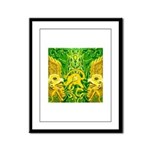 Green Totonac Framed Panel Print