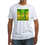 Green Totonac Fitted T-Shirt