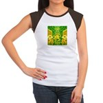 Green Totonac Women's Cap Sleeve T-Shirt
