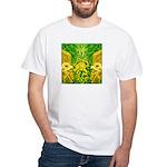 Green Totonac White T-Shirt