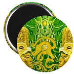 Green Totonac Magnet