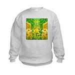 Green Totonac Kids Sweatshirt