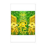 Green Totonac Mini Poster Print