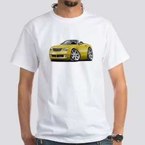 Crossfire Yellow Convertible White T-Shirt