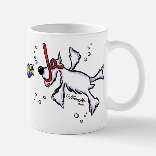 Snorkel Schnauzer Mug