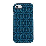 Black and Blue String Art 4406 iPhone 7 Tough Case