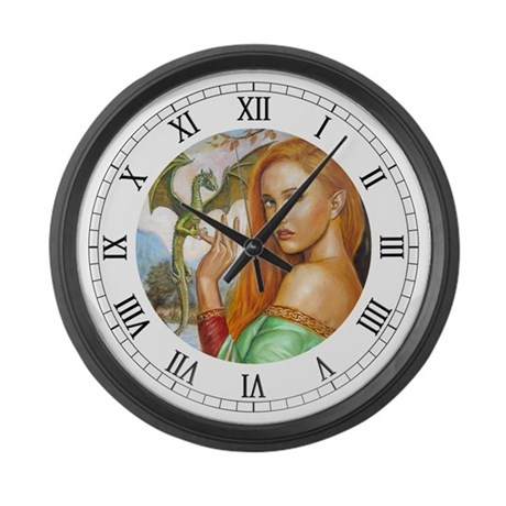 light fantasty Large Wall Clock