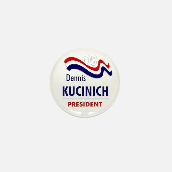 Kucinich 08 Mini Button