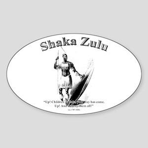 Shaka 01 Oval Sticker