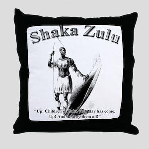 Shaka 01 Throw Pillow