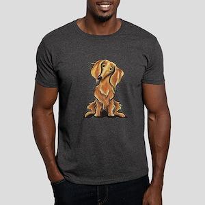 Longhair Dachshund Lover Dark T-Shirt