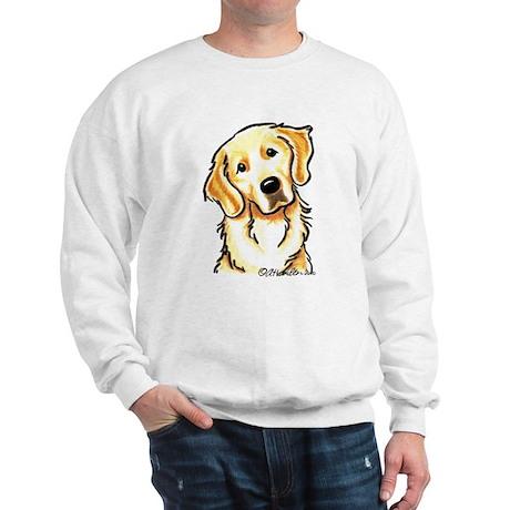 Golden Retriever Portrait Sweatshirt