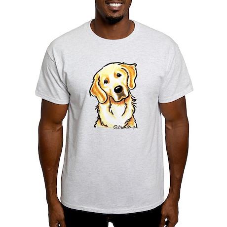 Golden Retriever Portrait Light T-Shirt