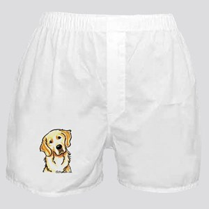 Golden Retriever Portrait Boxer Shorts