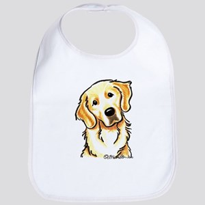Golden Retriever Portrait Bib