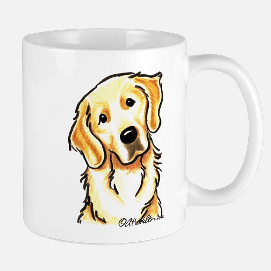 Golden Retriever Portrait Mug