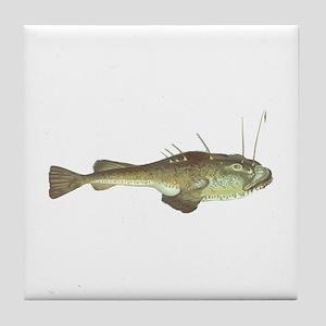 Monkfish Tile Coaster