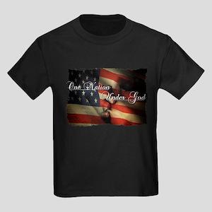 Land of the free Kids Dark T-Shirt