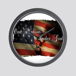 Land of the free Wall Clock