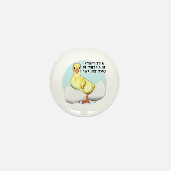 Gosling Hatch #2 Mini Button