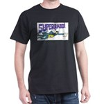 Superrabbi (super Rabbi) Black T-Shirt