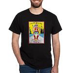CRIME BUSTER(American Cowboy) Black T-Shirt