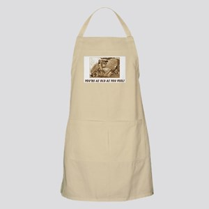 As Old As You Feel BBQ Apron