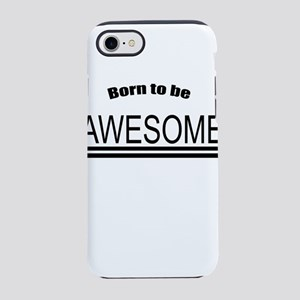 Awesome-White iPhone 7 Tough Case